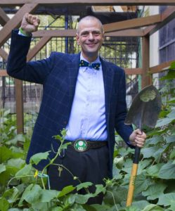 "Stephen Ritz, educator, innovator, urban farmers and author of ""The Power of a Plant"""
