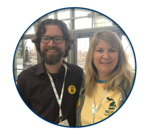 Smiling Attendees at the 2017 MACUL Conference